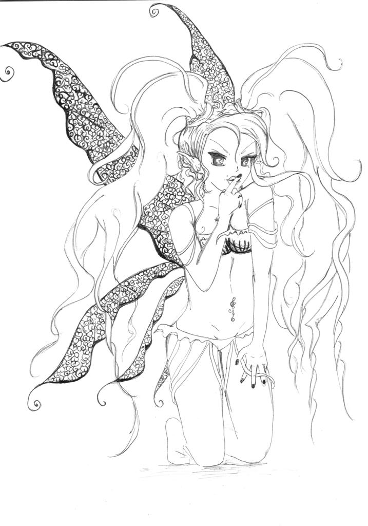 Sexy Fairy by khallya amber Hamelin is a sexy fairy 2