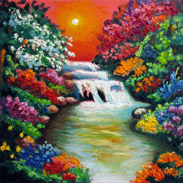 Waterfall 3 by ninelkl