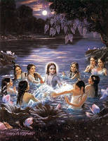 Krishna plays by lemurion