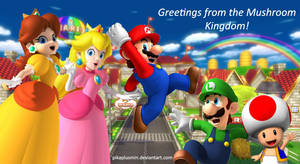 Hello from Mushroom Kingdom :D