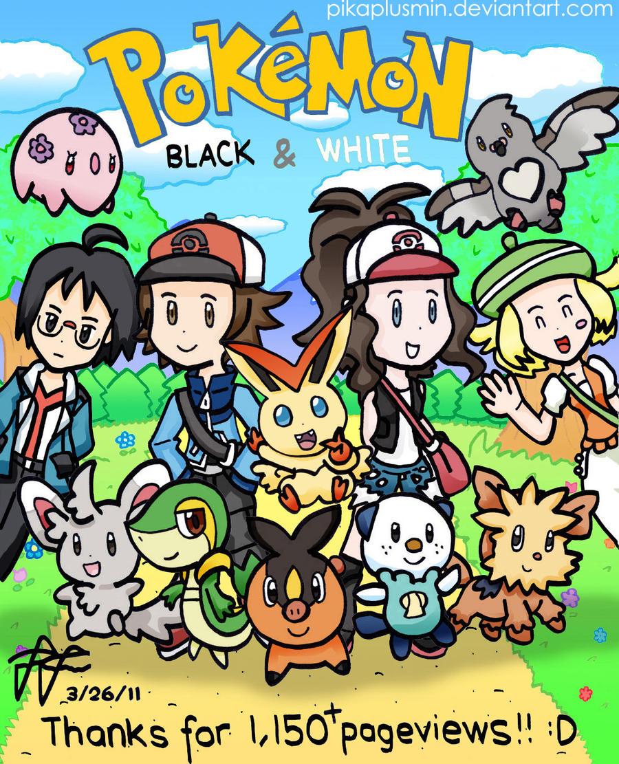 Pokemon BW: New Adventure by pikaplusmin