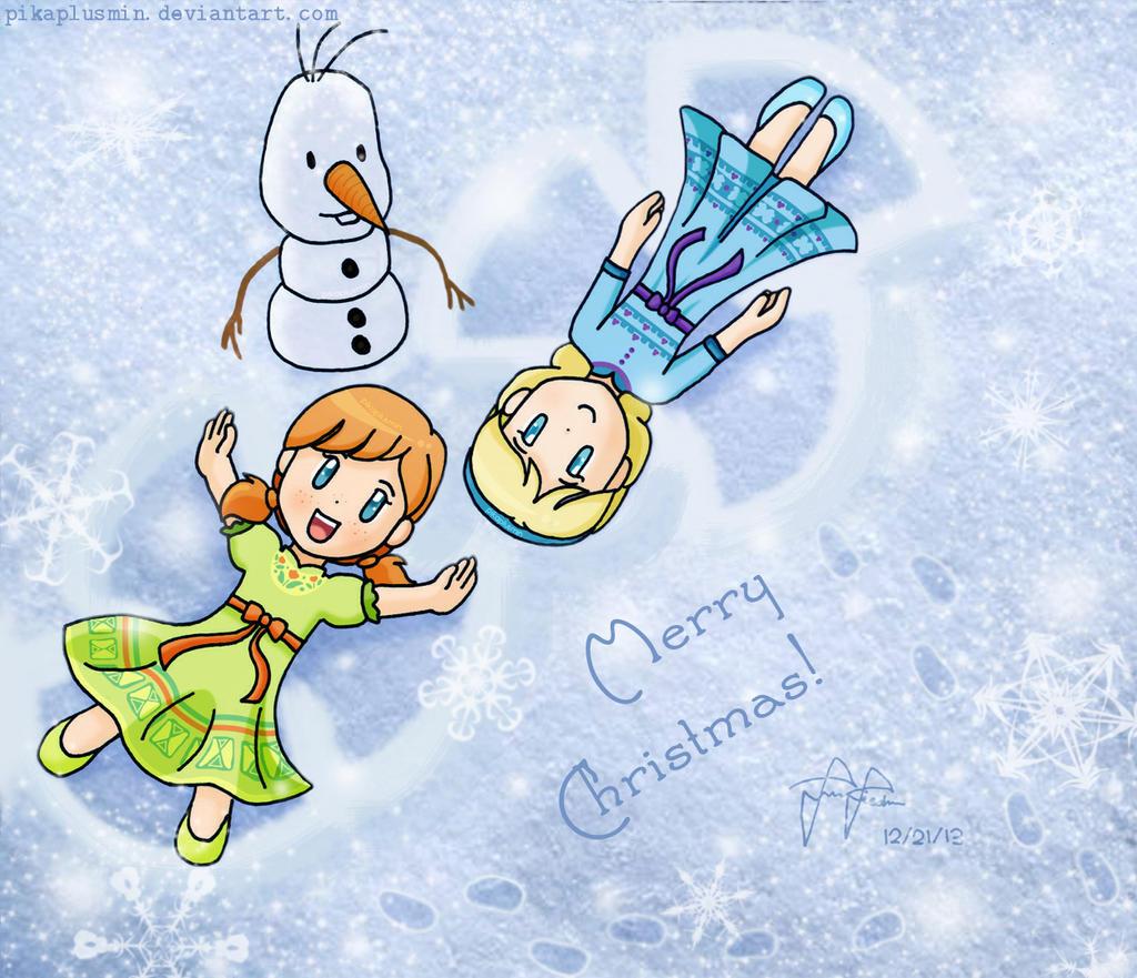 Merry Christmas 2013!! :D by pikaplusmin