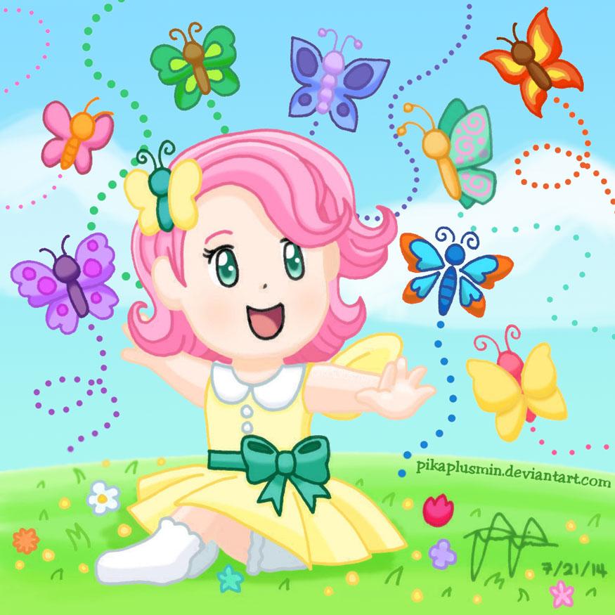 Baby Fluttershy by pikaplusmin