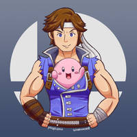 Richter and Kirby by pikaplusmin