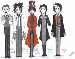 Tim Burton's Creatures by Pilvius
