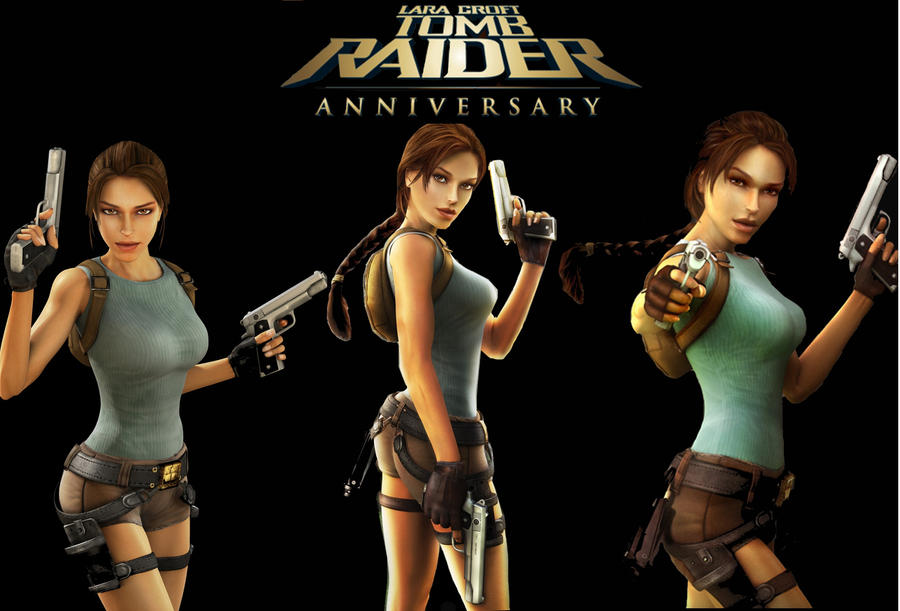 Tomb Raider Anniversary Wallpaper by Aya20809Tomb Raider Anniversary Wallpaper