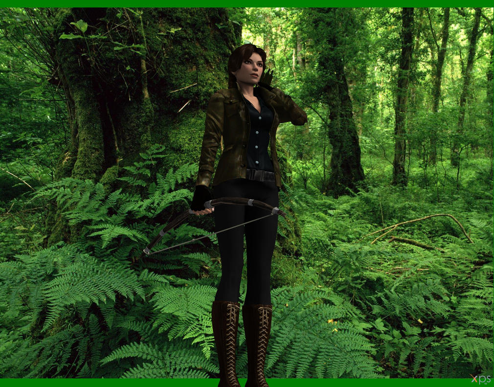 katniss hunting by aya on katniss hunting by aya20809