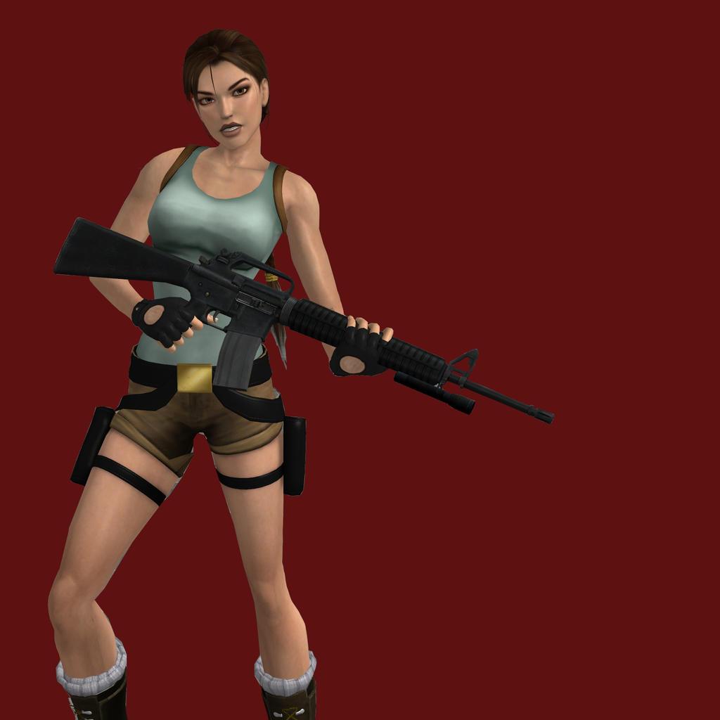 3d Tomb Raider Wallpaper: Tomb Raider II Lara Croft By Aya20809 On DeviantArt