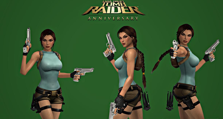 Tomb Raider Anniversary 3D Remake Wallpaper By Aya20809