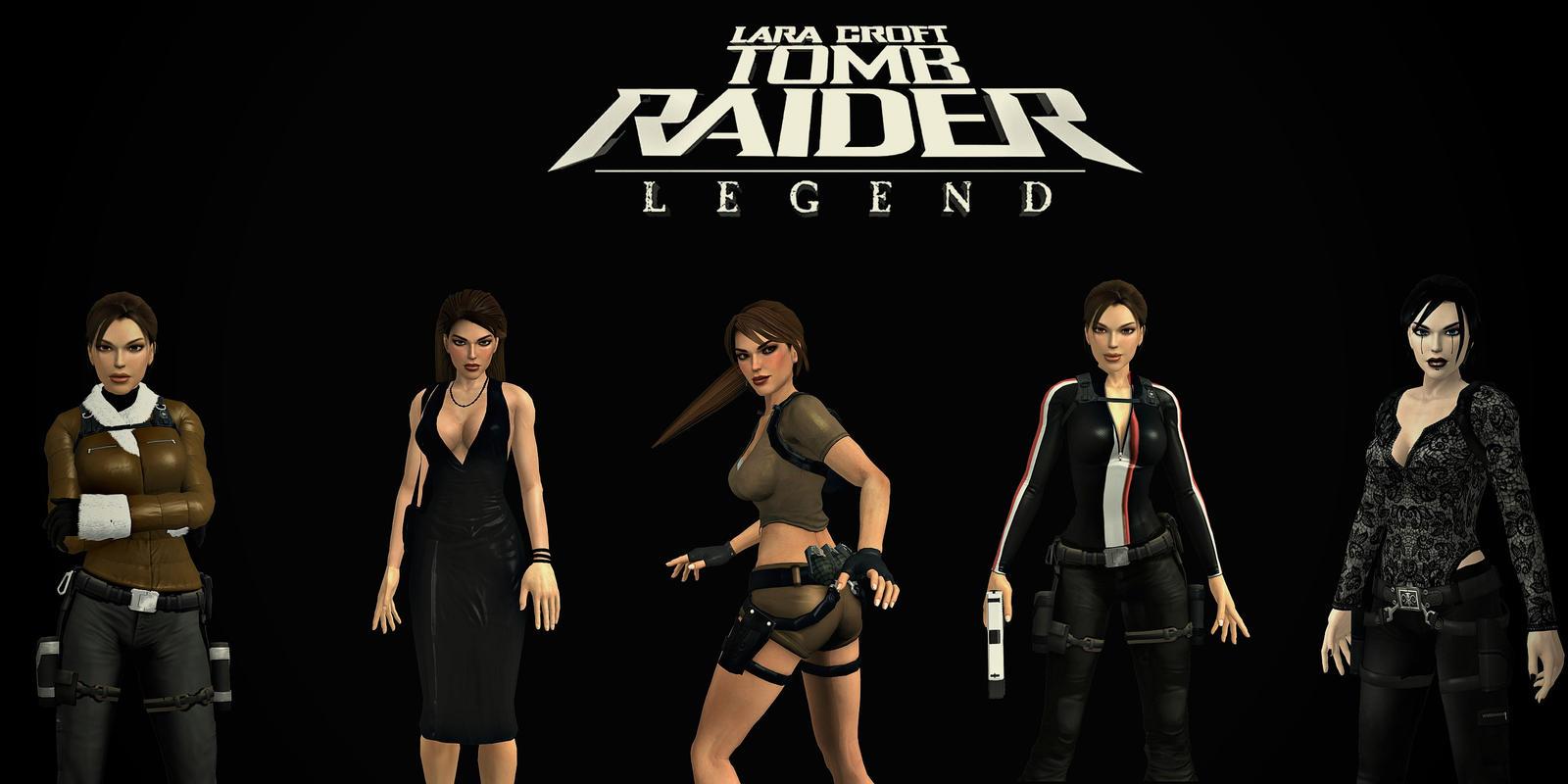 Tomb Raider Legend Outfits 3d Remake By Aya20809 On Deviantart