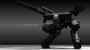 Metal Gear REX by Alaska-Pollock
