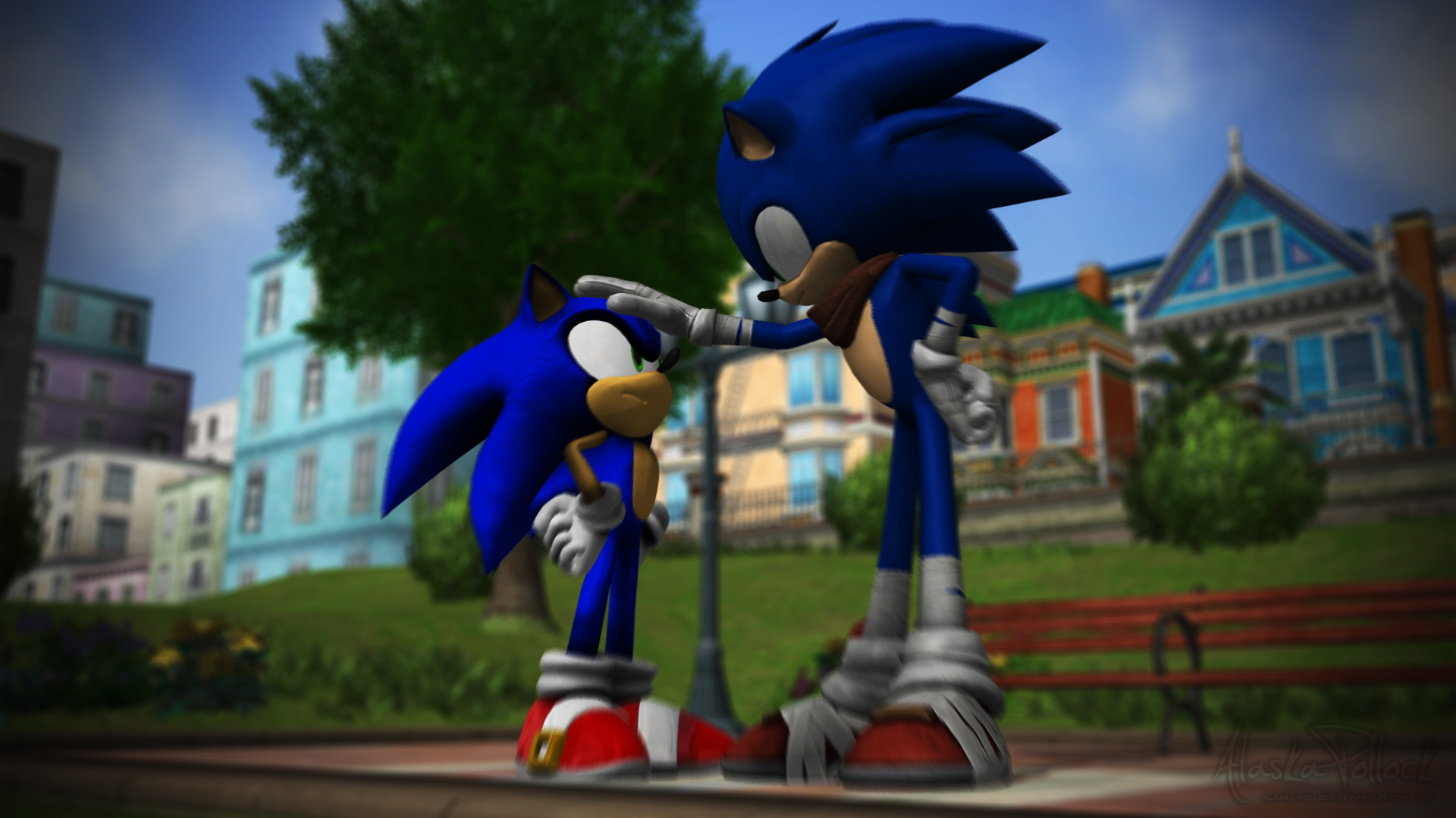 Request Sonic The Hedgehog Modern Meets Boom By Alaska Pollock On Deviantart