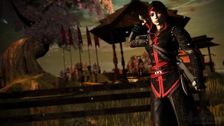 Assassin's Creed Chronicles: China - Shao Jun by Alaska-Pollock
