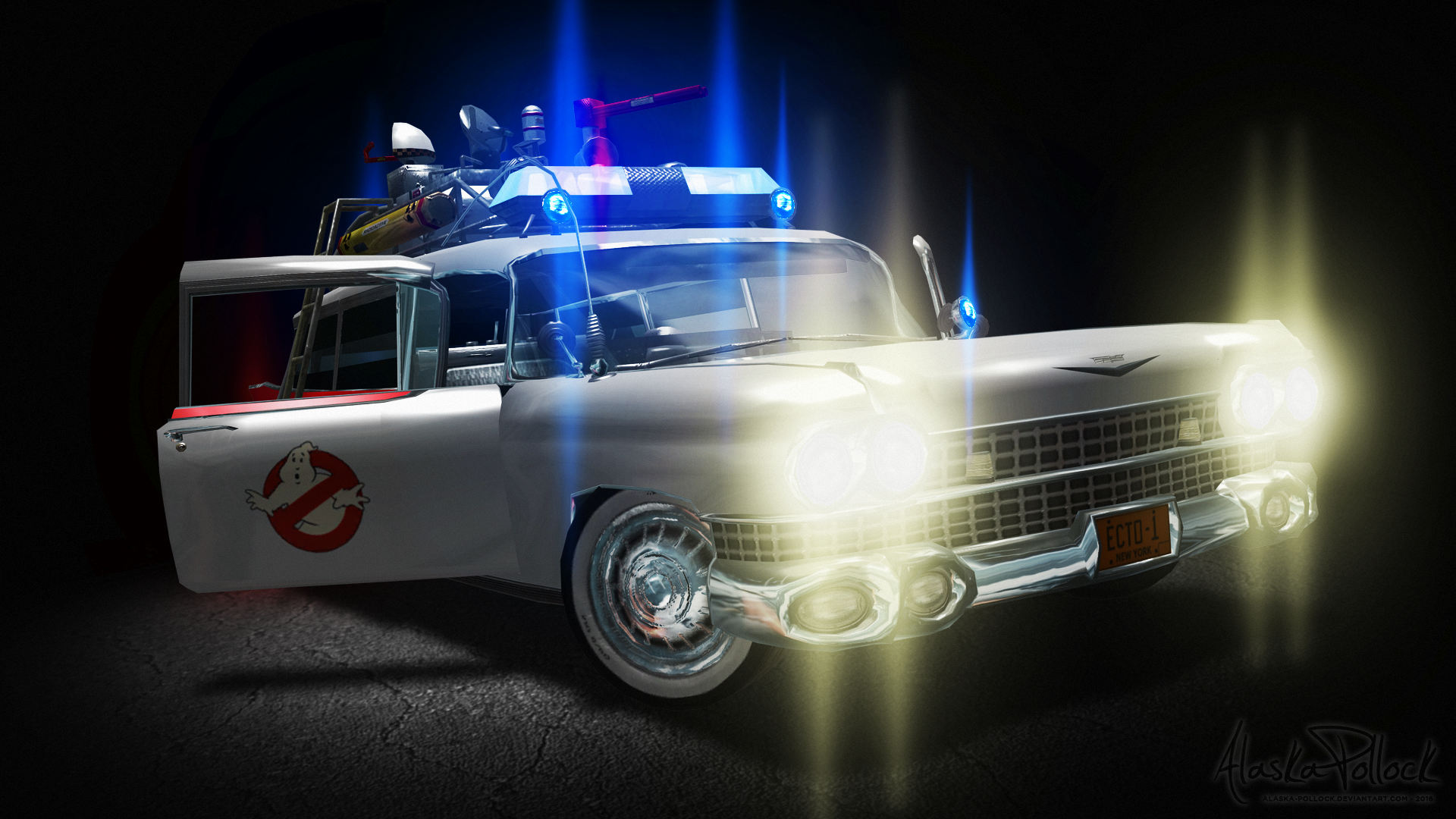 ecto 1 ghostbusters wallpaper - photo #2