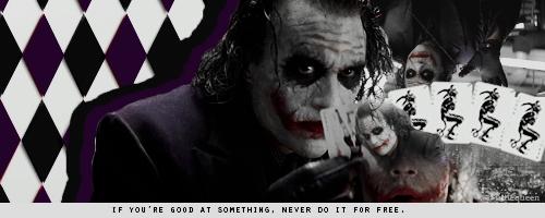 Joker Signature by AngelaLittleQueen