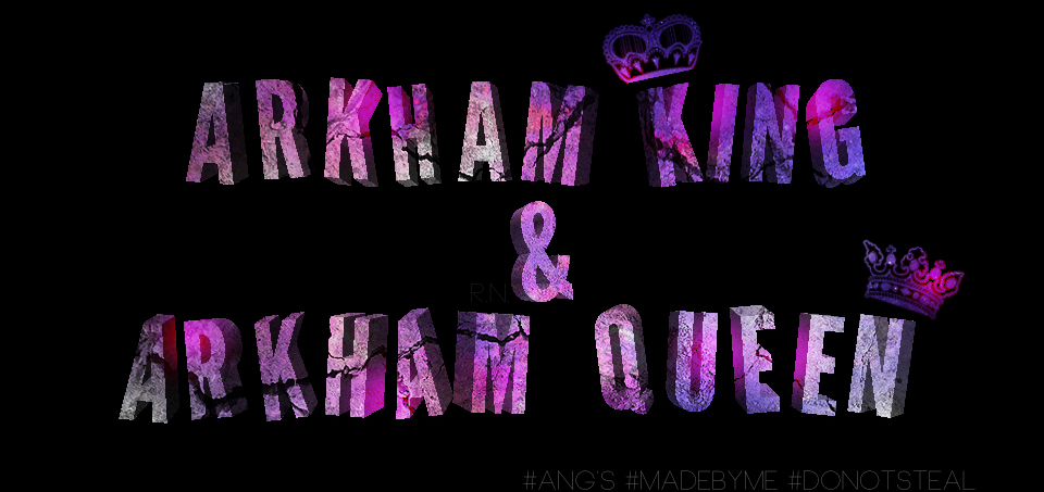 Arkham King and Arkham Queen by AngelaLittleQueen