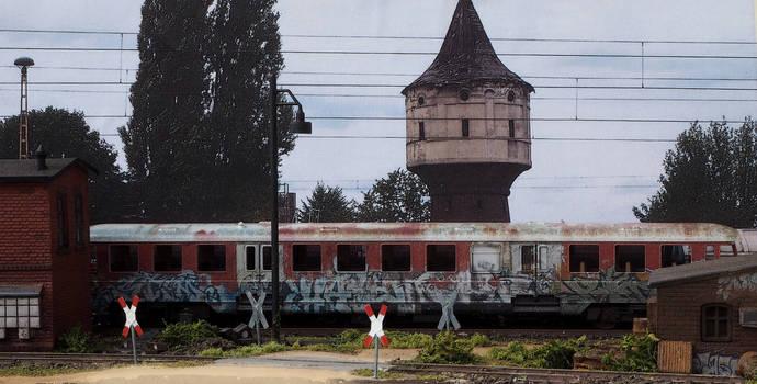 Abandoned railcar