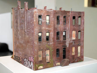 Ghetto buildings by jpachl