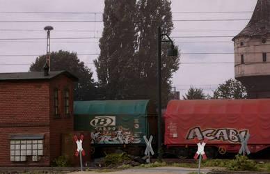 Graffiti train by jpachl