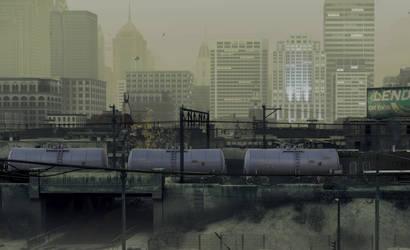 The last tank train by jpachl