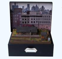 Storage box diorama design