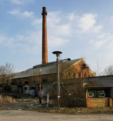 Abandoned glass factory - revisited