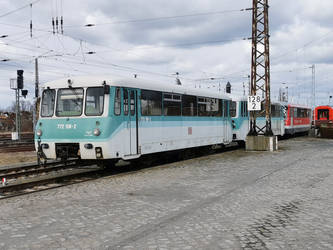 Lined up railbuses