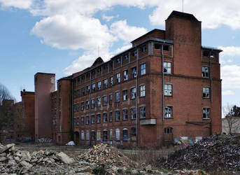 Abandoned spinning mill
