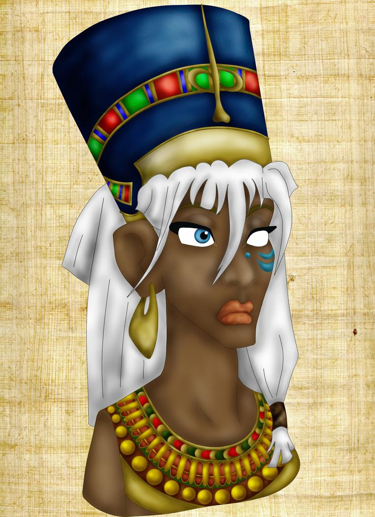 Kida as Nefertiti