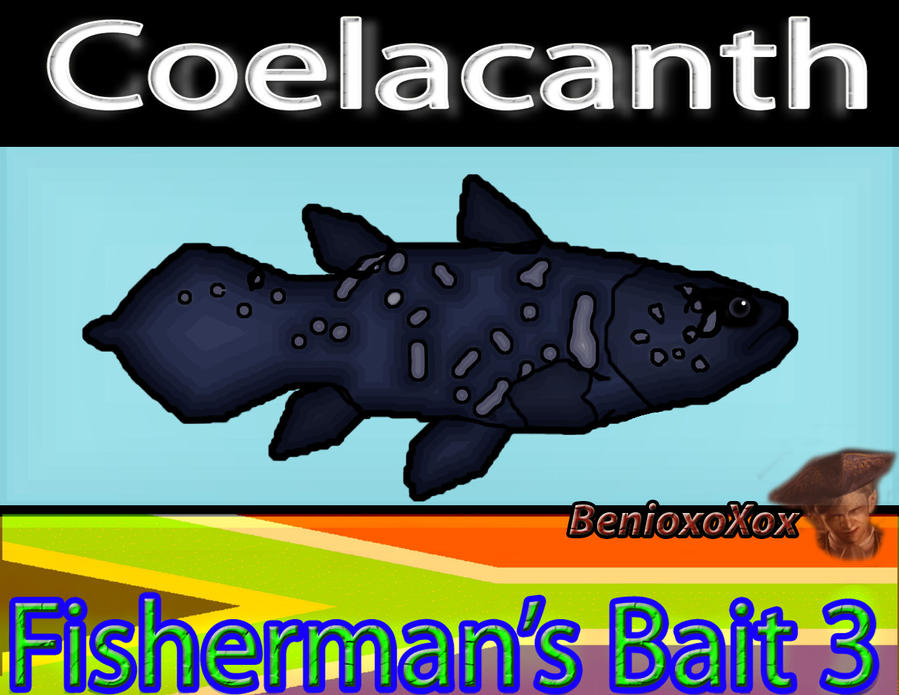 Coelacanth from Big Ol' bass fisherman's bait 3 by ...