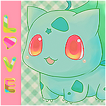 Bulbasaur Love by samvandersluis