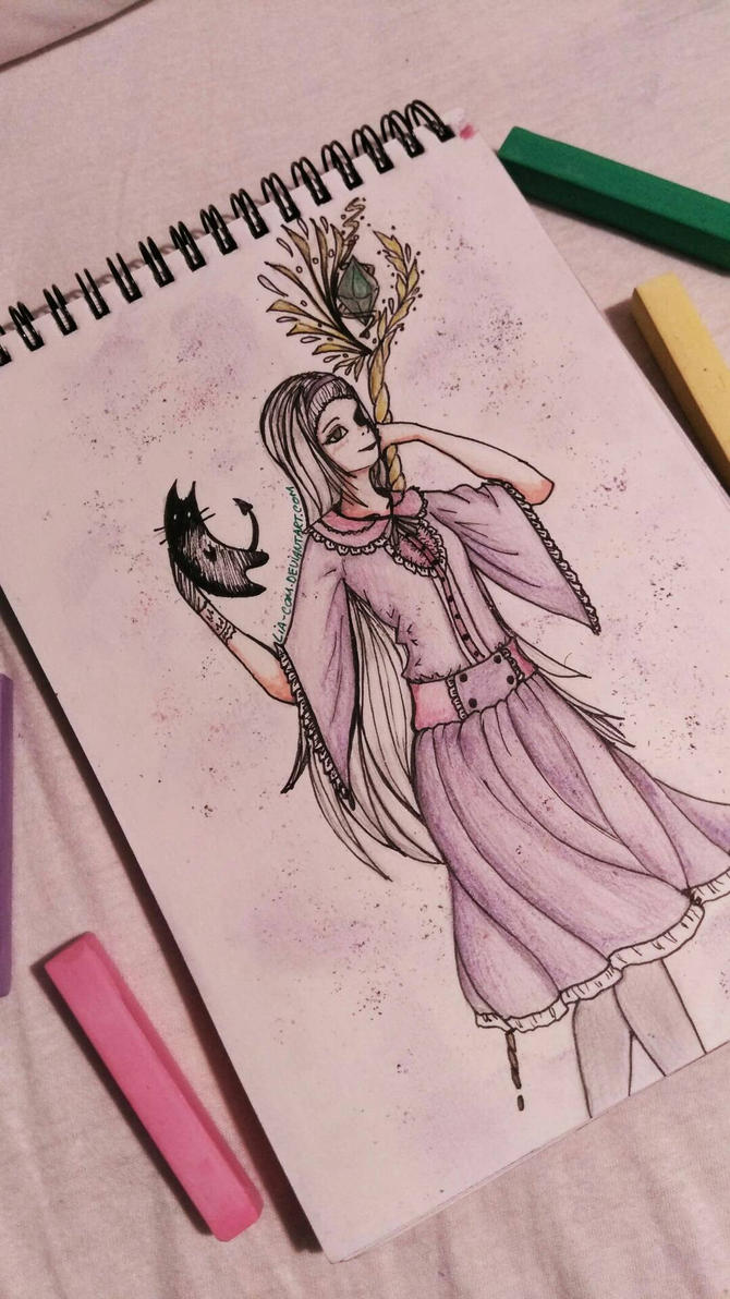Witch art by Lia-Com