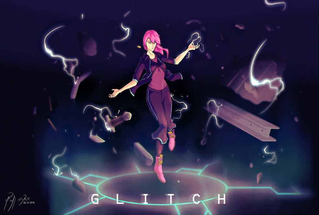 Glitch  by Barthimo1