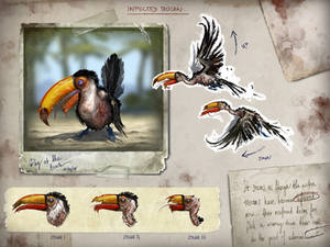 Infected Toucan