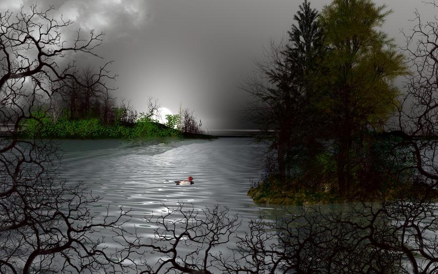 A Winter Scene by jazzilady