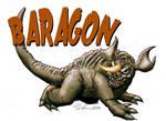 Baragon isolated