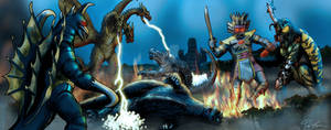 Godzilla vs the Space Monsters