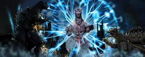 Godzilla vs Ghost Godzilla