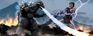 Frankenstein vs Godzilla