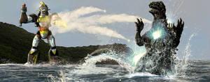 Godzilla vs The Asuka Fortress