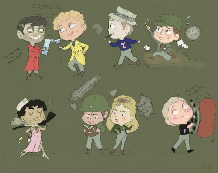M*A*S*H * by Gorseheart