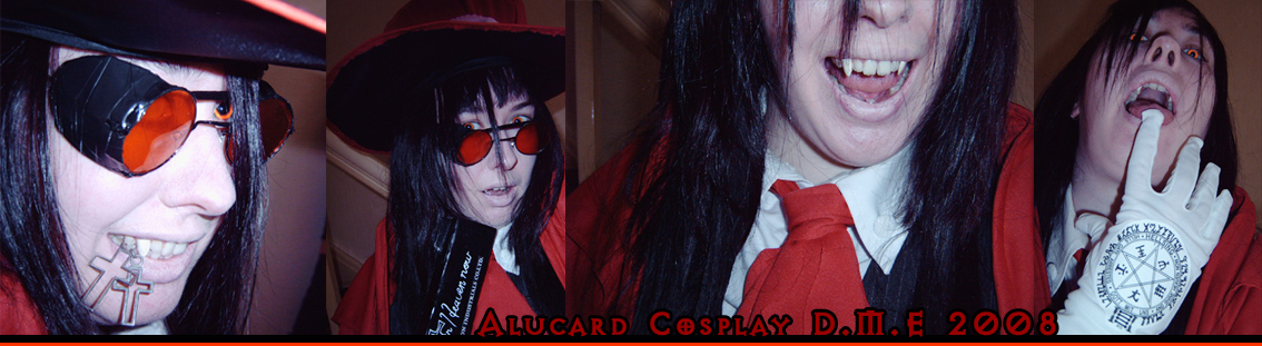 Alucard Cosplay Preview by tavington