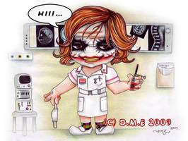 Nurse Joker Chibi...kawa-hii by tavington