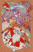 Merry Pokemon Christmas by tavington