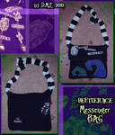 Beetlejuice Messenger Bag