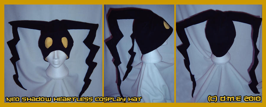 Neo Shadow Cosplay Hat by tavington