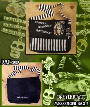 Beetlejuice Messenger Bag 2