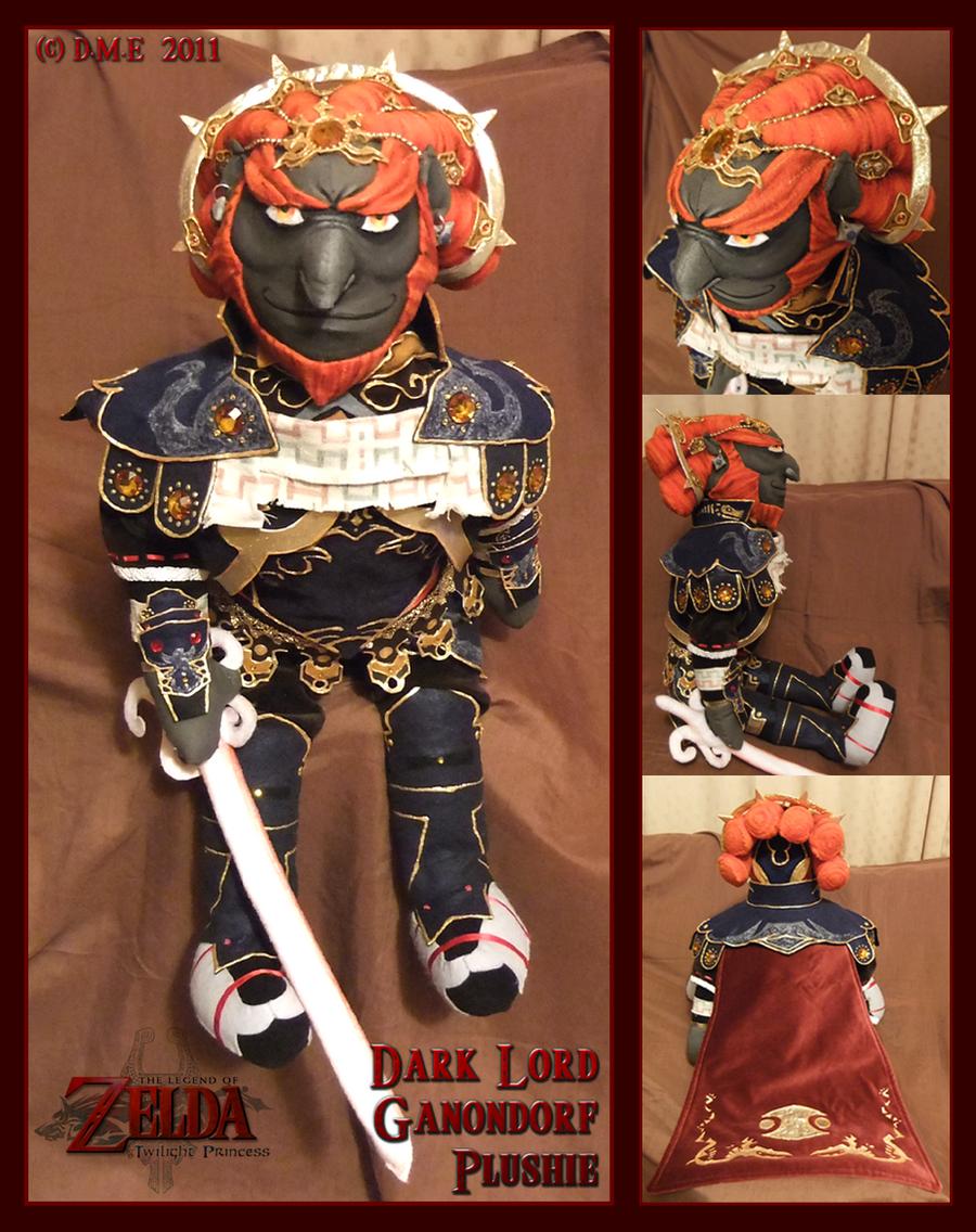 Dark Lord Ganondorf Plushie by tavington