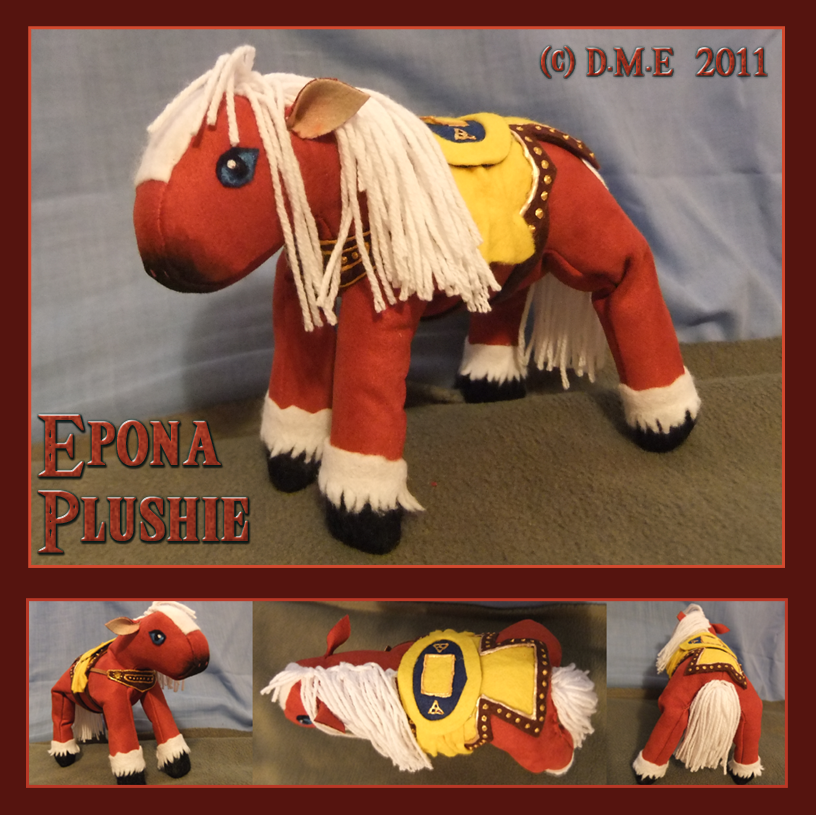 Epona Plushie by tavington