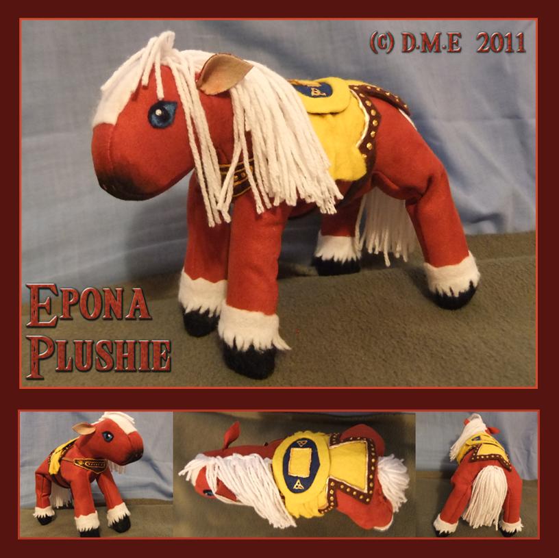 Epona Plushie by tavington